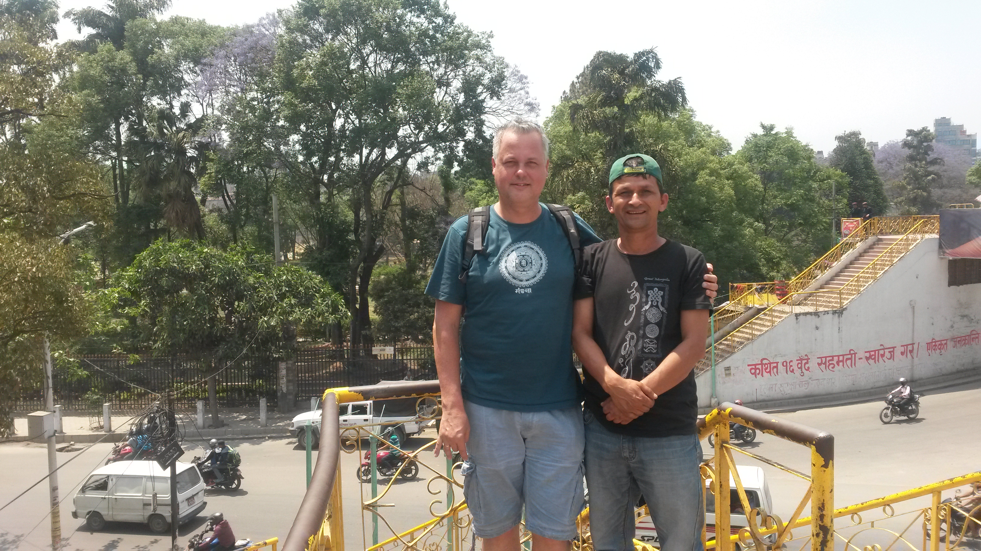 Guido in hoofdstad Nepal